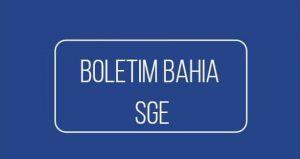Boletim Online Bahia SGE 2022