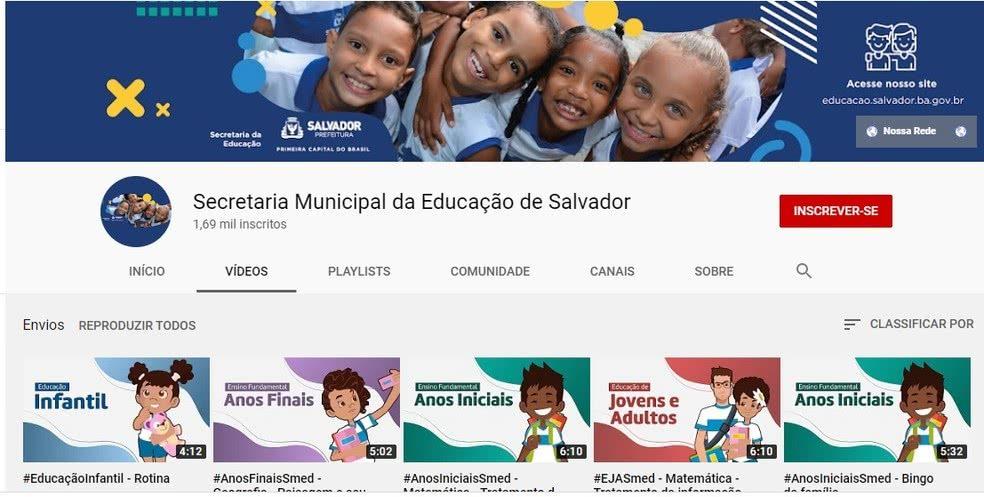 Matrícula Escolar Salvador 2022
